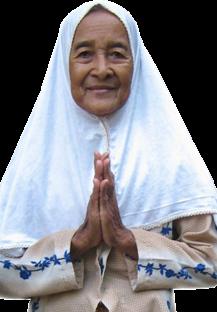 Salam khas para penghuni Panti Werdha